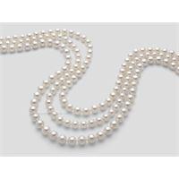 Miluna fili di perle akoya 1mps775_40nl202 gioiello donna collana perle