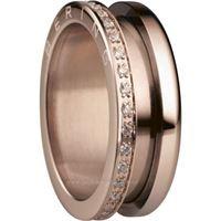 Bering anello esterno 599-3323-83 gioiello donna anello acciaio