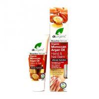Dr. Organic crema mani e unghie hand & nail balm organic moroccan argan oil 100 ml