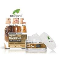 Dr. Organic snail gel bava di lumaca filtrata 50 ml