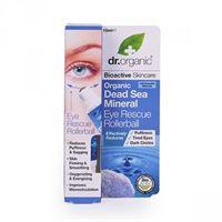 Dr. Organic siero contorno occhi eye rescue serum organic dead sea mineral 15 ml