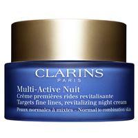 Clarins multi-active nuit crema notte light pelli da normali a miste