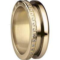 Bering anello esterno 599-3222-93 gioiello donna anello acciaio