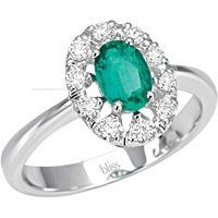 Bliss prestige selection 20064077 gioiello donna anello oro diamanti