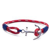Tom hope arctic blue tm0023 gioiello unisex bracciale corda
