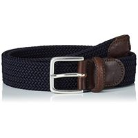 Gant elastic braid belt, cintura uomo, nero (black 5), 5 (taglia produttore: 85)