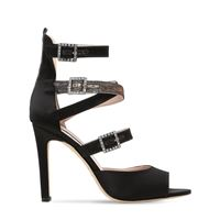 SJP BY SARAH JESSICA PARKER sandali fugue in raso 100mm