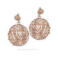 Boccadamo alissa xor239rs gioiello donna orecchini bronzo