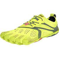 Vibram Five Fingers v-run, scarpe da corsa a collo basso donna, giallo (yellow), 41 eu