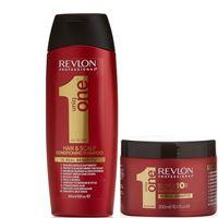 Revlon uniq one all in one kit shampoo + hair mask