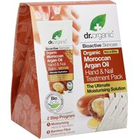 OPTIMA NATURALS Srl organic moroccan argan oil hand & nail treatment pack dr. Organic® cofanetto