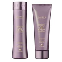 Alterna caviar moisture intense oil kit shampoo + conditioner