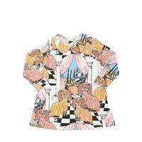MINI RODINI t-shirt in jersey di cotone organico