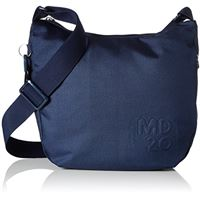 Mandarina Duck md20, borsa a tracolla donna, blu (dress blue), 10x26x29 centimeters (b x h x t)