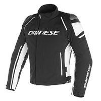 Dainese giacca moto Dainese racing 3 d-dry nero nero bianco