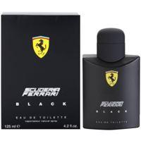 Ferrari scuderia Ferrari black eau de toilette per uomo 125 ml