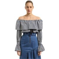 REJINA PYO blusa in popeline di cotone