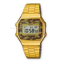Casio collection a168w a168wegc-5ef orologio unisex quarzo digitale cronografo