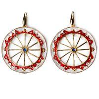 Isola bella orecchini 20000189 orecchini ruota gioiello donna orecchini argento
