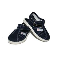 Superga sandalini Superga in cotone blu