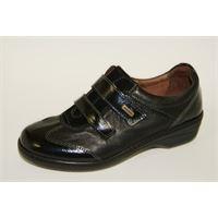 Susimoda scarpa Susimoda walksan nera con plantare estraibile e strappo