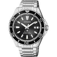 Citizen promaster divers 200 mt bn0190-82e orologio uomo eco drive solo tempo