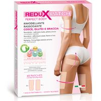 PLANET PHARMA SpA redux patch anticellulite perfect body cosce glutei braccia 48 patch