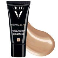 Vichy make up dermablend fond de teint fluide correcteur 16 ore 30 ml colore 25