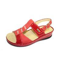 Susimoda sandalo Susimoda rosso con plantare estraibile