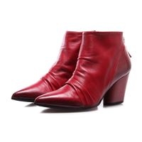HALMANERA scarpe donna stivali rosso HALMANERA