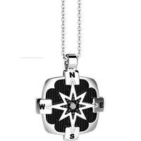 Zancan regata exc548 gioiello uomo collana argento