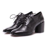 SALVADOR RIBES scarpe donna scarpe tacco nero SALVADOR RIBES