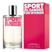 Jil Sander sport for women eau de toilette 100 ml per donna