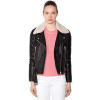 RAG&BONE giacca mckenzie in pelle con eco shearling
