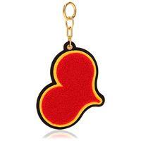 CHAOS portachiavi red heart in ciniglia