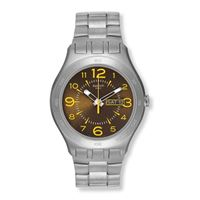 Swatch / irony / brown truffle / orologio unisex / quadrante marrone / cassa acciaio / bracciale acciaio