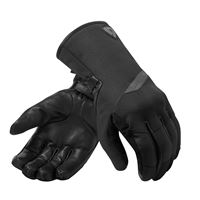 Rev'it guanti moto pelle invernali rev'it anderson h2o nero