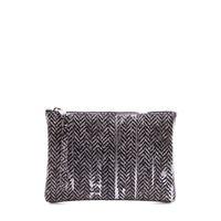GUM CHIARINI borse donna pochette pvc argento / multicolor GUM CHIARINI