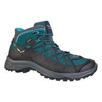 salewa scarponi salewa wild hiker mid goretex eu 36 french blue / black