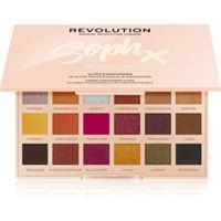 Makeup Revolution soph x extra spice palette di ombretti con specchietto colore extra spice 18 x 0, 8 g