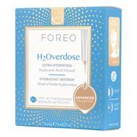 FOREO h2overdose mask - maschera viso ultra-idratante per pelli secche