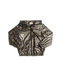 FENDI giacca fendi mania in jersey spalmato
