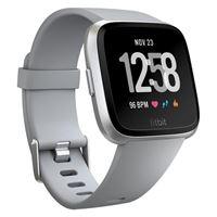 Fitbit versa smartwatch con funzione di activity tracker one-size grigio
