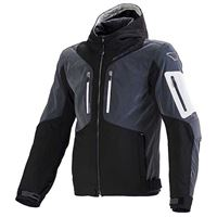 Macna giacca con cappuccio aytee l black / dark grey night eye / light grey