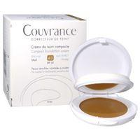 Avene (pierre Fabre It.) eau thermale avene couvrance crema compatta colorata nf oil free miele 9, 5 g