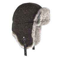 BREKKA colbacco wool eco russia grigio scuro
