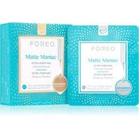 FOREO ufo™ matte maniac maschera detergente al carbone attivo per un finish opaco 6 x 6 g