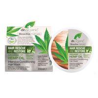 Dr. Organic rescue intensive conditioning hair mask maschera capelli 200ml