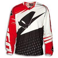 UFO maglia misty jersey bianco nero rosso