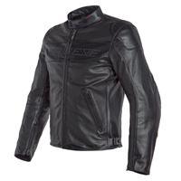 Dainese giacca in pelle traforata bardo nero